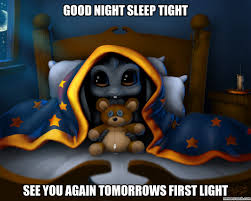 Scary Goodnight Meme - image jpg