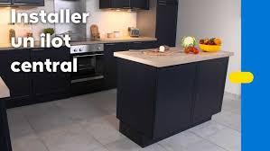 comment construire un ilot central de cuisine comment faire un ilot central cuisine cool fabriquer un ilot de