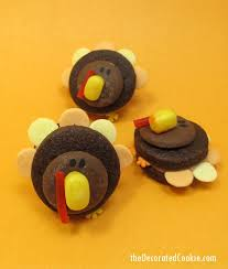 turkey cookies for thanksgiving mini turkey cookies thanksgiving dessert idea food