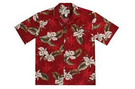 kys mens orchid aloha shirts