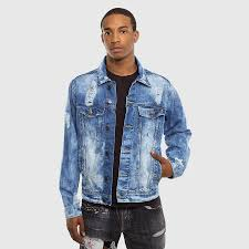 light blue denim jacket mens liberation a bleu men s ripped denim jacket light blue