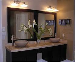 ideas for bathroom mirrors vanity for bathroom mirror ideas size only cabinet pictures