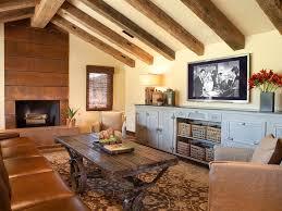 wonderlhomes beige wall wood slat coffee table orange patterned