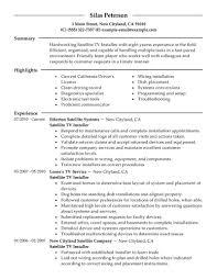 sample resume for painter a v installer cover letter directv installer sample resume aircraft painter sample resume directv installer sample resume aircraft painter sample resume