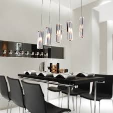 Dining Chandelier Lighting Lightinthebox Stainless Steel 5 Light Mini Bar Pendant Light With