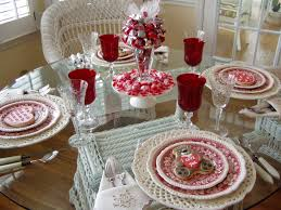 Valentine Home Decorations Decorations Vintage And Romantic Valentine Dining Table