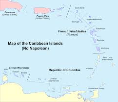 Map Of The Caribbean Islands by Image Map Of The Caribbean No Napoleon Png Alternative