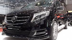 mercedes business class brabus mercedes v class business lounge 2017 in detail review