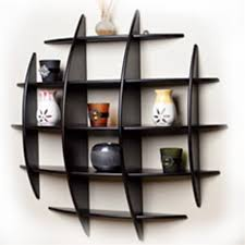 100 wall bookshelves unique art deco wooden wall