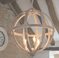 Orb Chandeliers 45 Inspirations Of Wood Orb Chandelier