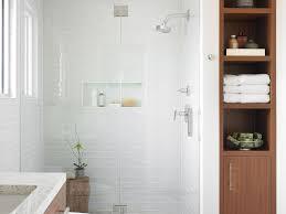 bathroom two piece toilet white walls mid sized minimalist