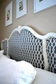 Diy Fabric Headboard by Diy Upholstered Headboard Love Your Home