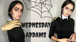 Halloween Costume Wednesday Addams Minute Halloween Costume Diy Wednesday Addams