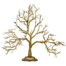 glittered gold branch twig tree 55cm decorations for wedding