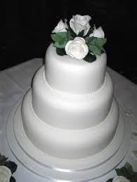 champagne ivory wedding cake by mrs baker u0027s cakes via flickr