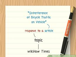 letter writing paper how to write letters to the editor with pictures wikihow