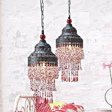 shabby chic pendant lighting best illuminated style images on