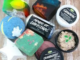 lush christmas 2015 collection sneakpeek quick review the