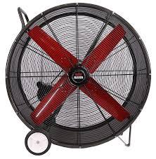 tpi industrial fan parts tpc heat buster portable drum fan 1 speed 42 inch 14445 cfm belt