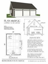 3 Car Garage Plans Double Depth 2 Car Garage Plans 24 U0027 Wide Looks Like Standard 2
