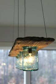 Jar Pendant Light Driftwood Antique Jar Hanging Light Pendant Lamp Lighting Ceiling