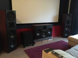 good home theater speakers diy front soundstage build 3 way triple 12 inch beyma tpl 150