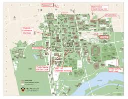 Mercer University Map Princeton Campus Map