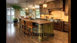french country kitchen youtube