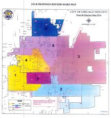Chicago Police District Map by 2014 Proposed Ward Map U2039 Chicago Heights Park District