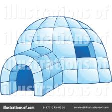Igloo by Igloo Clipart 1351648 Illustration By Visekart