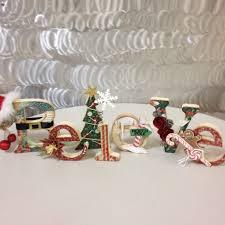 believe u201d wooden christmas letters by darlenescrapbook paradise