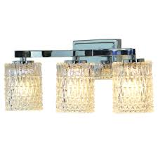 Chrome Bathroom Vanity Light Fixtures by I Want 2 Of These Master Bath Allen Roth 3 Light Flynn Polished