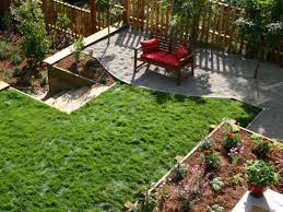 diy backyard makeover with landscaping ideas on a budget for small