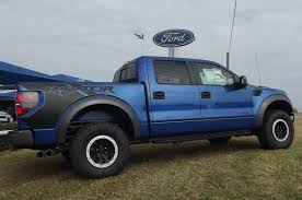 ford truck blue official off road 4x4 new 2013 ford blue flame raptor svt 6 2l