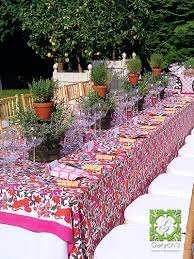 outdoor private dinner party gerych u0027s flowers fenton michigan