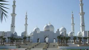 hd wallpaper sheikh zayed grand mosque mughal architecture abu