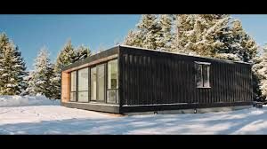 modern shipping container home install honomobo youtube