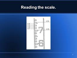 how to read and convert readings from decimal feet to feet and