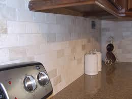 travertine tile kitchen backsplash beautiful subway tile backsplash in kitchen traditional with