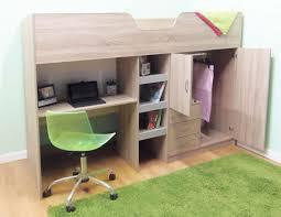 hochbett mit schreibtisch und sofa hochbett schreibtisch kleiderschrank gelb hoch etagenbetten und