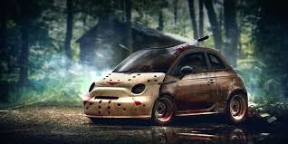 cars movie characters horror movie characters re imagined as spooky cars biser3a
