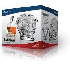 unique barware brainfreeze skull glass wine cooler gift