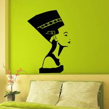 Ancient Egyptian Home Decor Wall Decal Vinyl Sticker Ancient Egyptian Symbol Queen