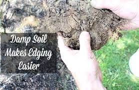 how to edge a flower bed home repair tutor