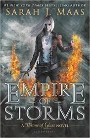 Sarah J Home Decor Amazon Com Empire Of Storms Throne Of Glass 9781619636071