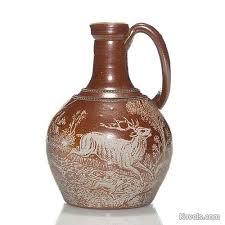 White Ceramic Jug Vase Antique Stoneware Pottery U0026 Porcelain Price Guide Antiques