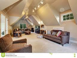 Luxury Homes Interior Upstairs Living Room Interior Of Luxury House Stock Photo Image