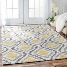 Modern Wool Area Rugs Nuloom Handmade Trellis Modern Ikat Wool Area Rug 7 6 X 9 6 By