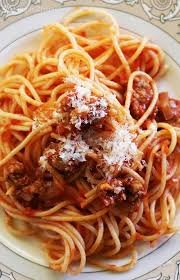 cuisine pasta easy sausage spaghetti recipe simplyrecipes com