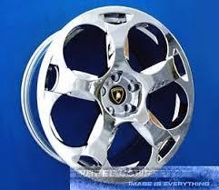 lamborghini gallardo wheels lamborghini gallardo 19 inch chrome wheel exchange 19 rims